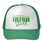 Everybody Loves An Irish Girl Hat