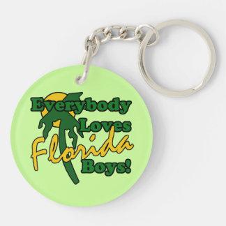 Everybody Loves Florida Boys Keychain