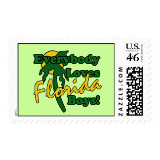Everybody Loves Florida Boys Postage Stamps