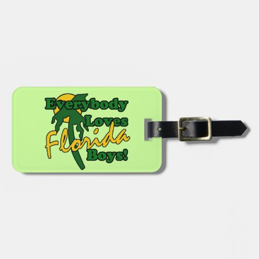 Everybody Loves Florida Boys Tags For Bags