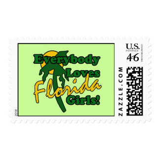 Everybody Loves Florida Girls Postage Stamps
