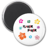 Everybody loves Flowers 2 Inch Round Magnet