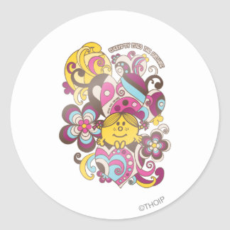Everybody Loves Little Miss Sunshine Classic Round Sticker