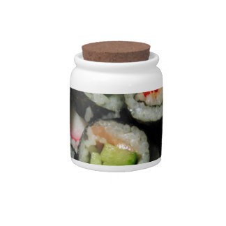 Everybody Loves Sushi! Candy Jars