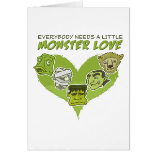 Everybody Needs a Little Monster Love Cards