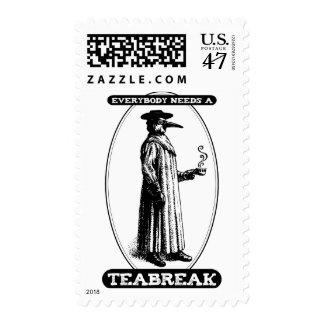 Everybody Needs A Teabreak Postage