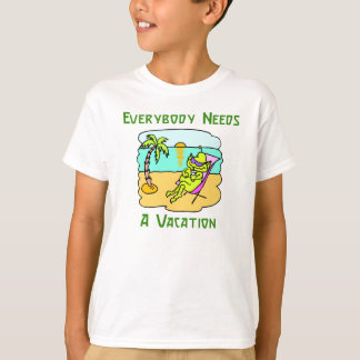 Everybody Needs A Vacation Kid's T-Shirt