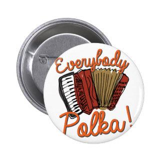 Everybody Polka! Button