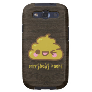 Everybody Poops Galaxy S3 Cover