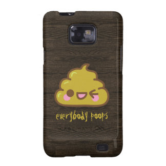 Everybody Poops Samsung Galaxy S2 Cover