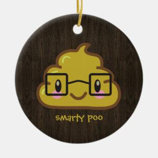 everybody poops ceramic ornament