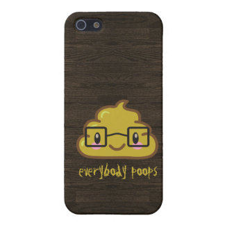 Everybody Poops Cover For iPhone SE/5/5s