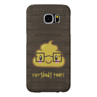everybody poops - featuring Smarty Poo Samsung Galaxy S6 Cases