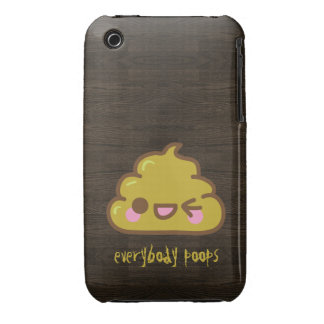 Everybody Poops iPhone 3G Case
