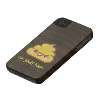 Everybody Poops iPhone 4, 4S Case-Mate case