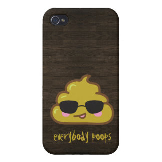 Everybody Poops iPhone 4/4S Cases