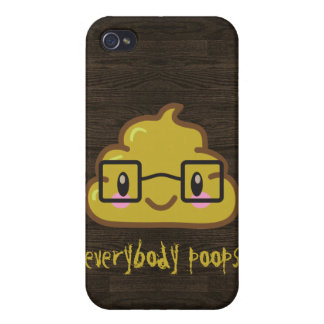 Everybody Poops iPhone 4 Case