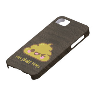 Everybody Poops iPhone 5,  Case-Mate case