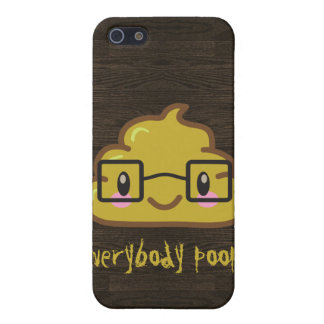 Everybody Poops Cases For iPhone 5