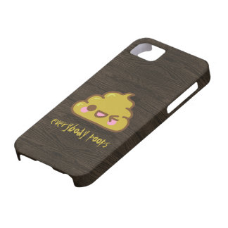 Everybody Poops iPhone SE/5/5s Case