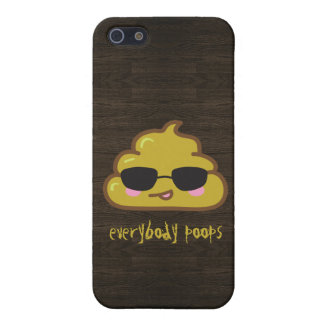 Everybody Poops iPhone SE/5/5s Cover