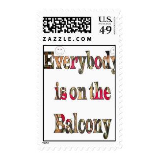 Everybody  Postage stamp