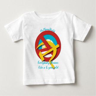 Everybody throws like a 6 yr old shirt