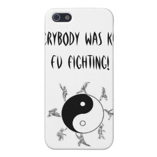 Everybody was Kung Fu fighting! iPhone SE/5/5s Case