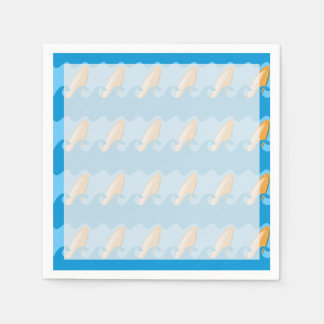 Everybody's Gone Surfin Paper Napkin