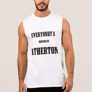 Everybody's Nervous In Atherton Mens Sleeveless Sleeveless Shirt