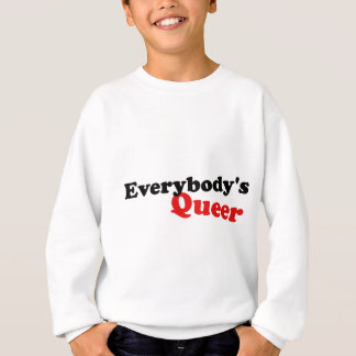Everybody's Queer, Black Lettering