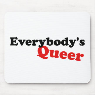 Everybody's Queer Mouse Pad