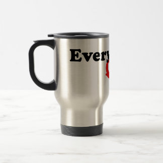 Everybody's Queer 15 Oz Stainless Steel Travel Mug