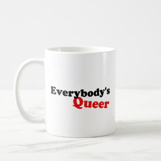 Everybody's Queer Classic White Coffee Mug
