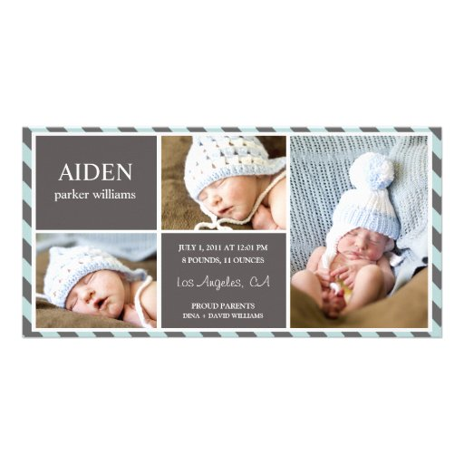 EVERYDAY BABY BIRTH ANNOUNCEMENT Photo Card