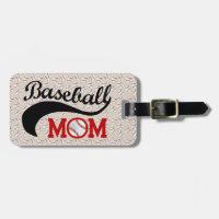 Everyday Baseball Mom Sporty Luggage Tag