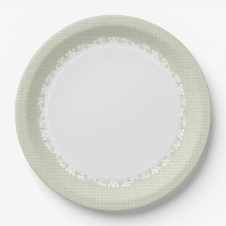 Everyday-Dinner-Ware(c)Ecru-Lace Paper Plate