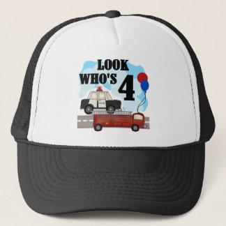 Everyday Heroes 4th Birthday Trucker Hat