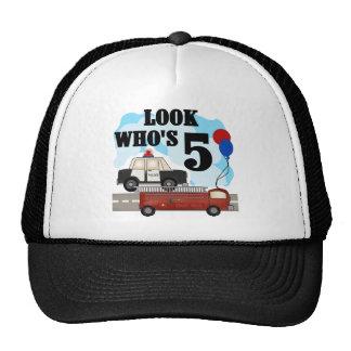 Everyday Heroes 5th Birthday Tshirts Trucker Hat