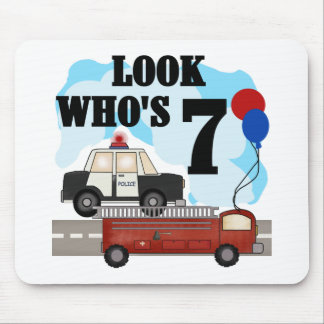 Everyday Heroes 7th Birthday Mouse Pad