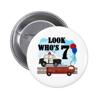 Everyday Heroes 7th Birthday Pinback Button