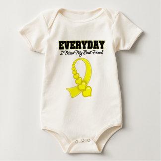 Everyday I Miss My Best Friend Military Baby Bodysuit