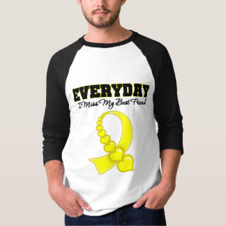 Everyday I Miss My Best Friend Military T Shirt