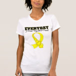 Everyday I Miss My Best Friend Military Tee Shirt