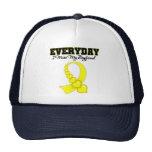 Everyday I Miss My Boyfriend Military Trucker Hat
