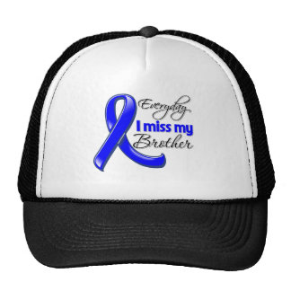 Everyday I Miss My Brother Colon Cancer Mesh Hats