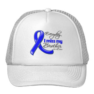 Everyday I Miss My Brother-in-Law Colon Cancer Mesh Hat
