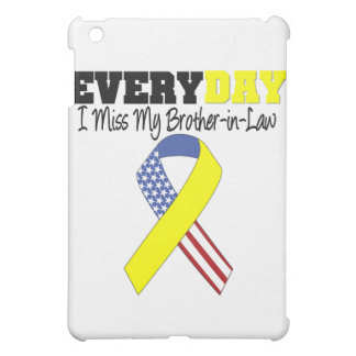 Everyday I Miss My Brother-in-Law Military iPad Mini Covers