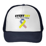 Everyday I Miss My Co-Worker Military Trucker Hats