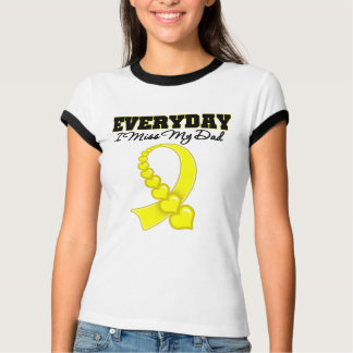 Everyday I Miss My Dad Military T-Shirt